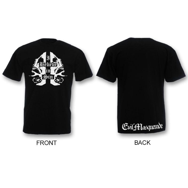 I Believe in Sin t-shirt