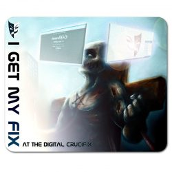 The Digital Crucifix mouse pad