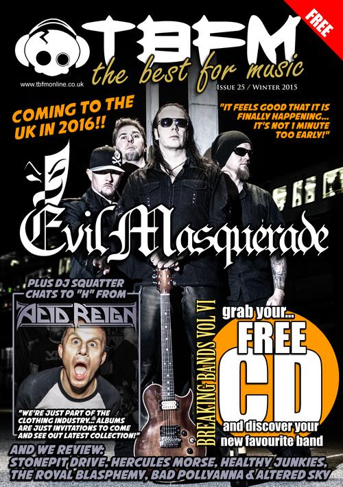 TBFM # 25 (winter2015) Evil Masquerade interview