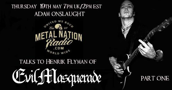 Henrik Flyman on Metal Nation Radio