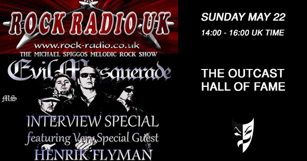 The Michael Spiggos Melodic Rock Show, May 22 2016
