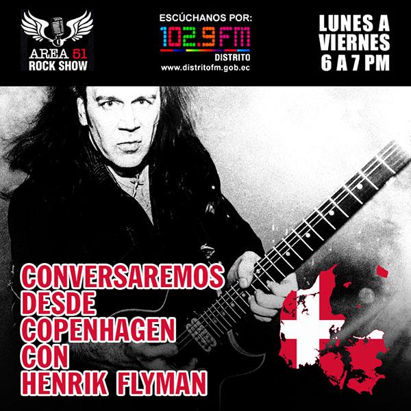 AREA 51 ROCKSHOW - HENRIK FLYMAN